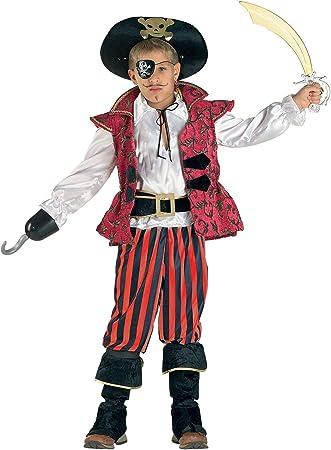 Clown 62308/08 - Disfraz de pirata del Caribe para niño ...