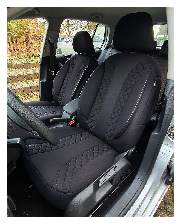Autositzbez/üge Vordersitze Ma/ß Sitzbez/üge kompatibel mit BMW 2er F45 F46 Grand Tourer Fahrer /& Beifahrer ab 2015 Farbnummer: N304 Sitzbez/üge /& Sitzauflagen Sportsitzbez/üge Sitzbezugset Sitzbezug