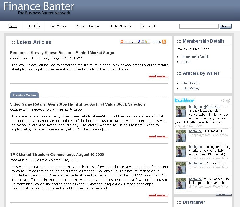 c379ef8974 Amazon.com  Finance Banter  Finance Banter  Kindle Store