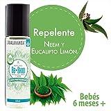 Bb*Shoo - Repelente natural y seguro para bebés de 6 a 24 meses, libre de pesticidas. Con aceites de neem y aceites esenciales - RollOn de 10 ml