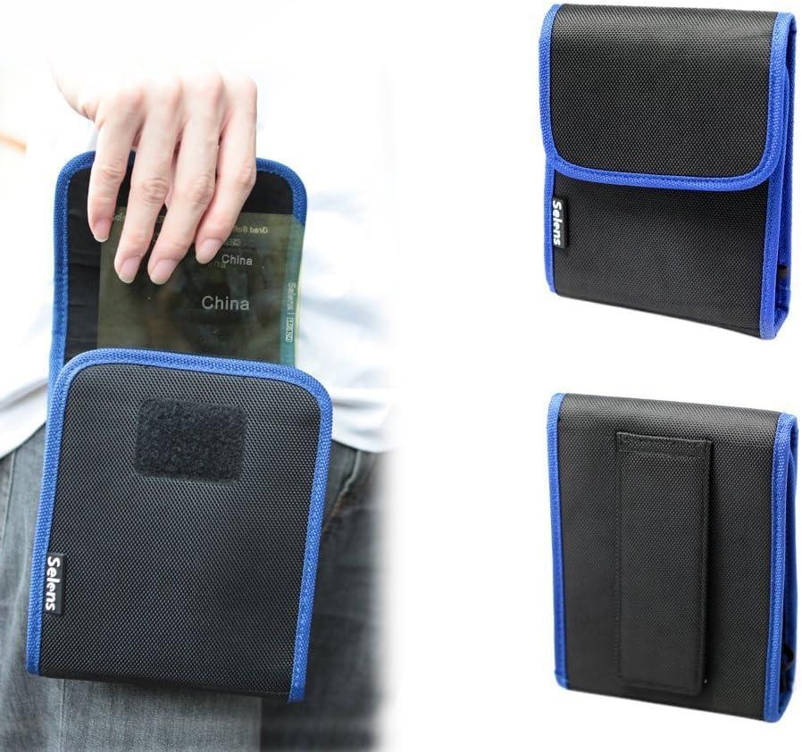 Selens 10 en 1 Filtros Estuche Funda Bolsa Protectora 100 * 150mm con 10 Bolsillos para Cokin P Series Filtro Cuadrado ND UV CPL MCUV: Amazon.es: Electrónica