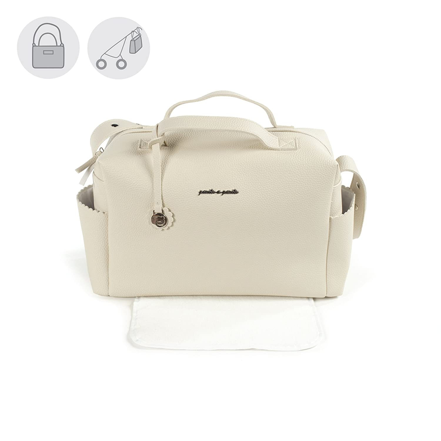 pasito A pasito trousseau biscuit  –   sac, Unisexe beige