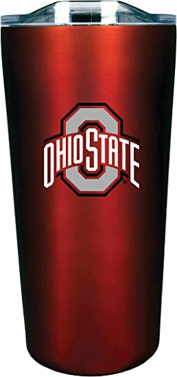 The Fanatic Group Kansas Double Walled Soft Touch Tumbler Design-1 Red