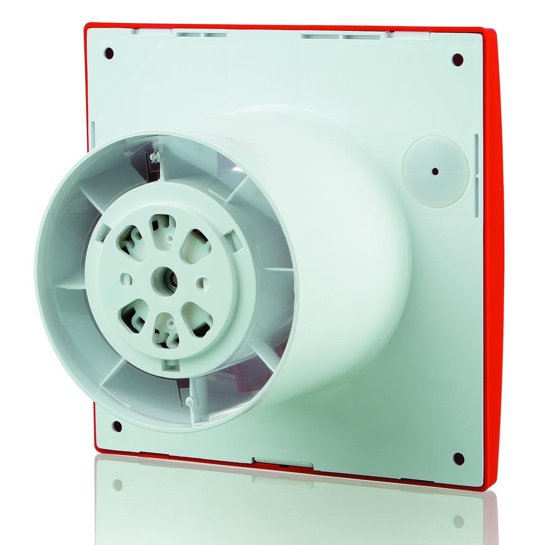 /Chrom Blauberg UK 150/Leise TP chrom 150/mm Abluftventilator mit PIR Bewegungsmelder/