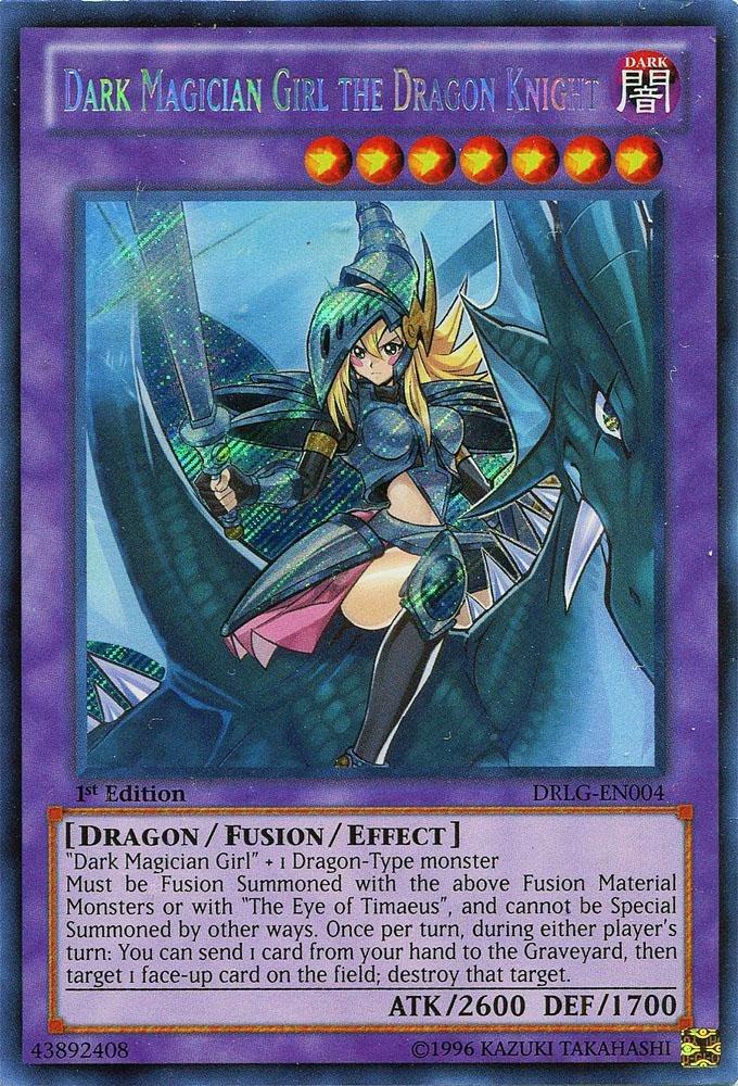 Yu Gi Oh Dark Magician Girl The Of Dragon Knight Drlg En004