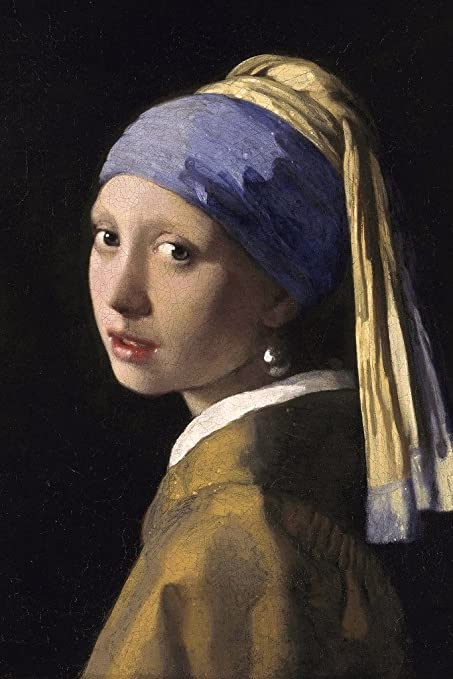 863c96e2cca Amazon.com  Johannes Vermeer Girl with a Pearl Earring Poster 12x18 ...