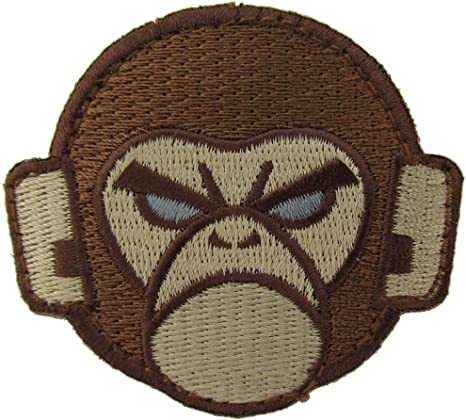 Mil-Spec Monkey Surprise Tactical Morale Patch Hook and Loop Patch