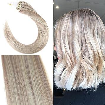 blonde strähnen bei blonden haaren