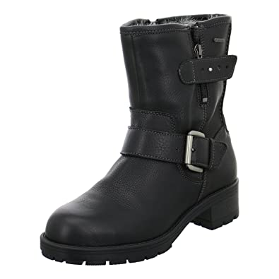 39821530c Clarks Women s Reunite Go Gtx Warm lined classic boots short length black  Size  2.5