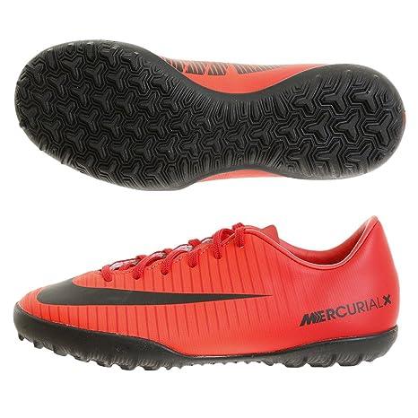 Nike - JR Mercurialx Victory Vi TF - 831949616 - El Color Rojo - ES-Rozmiar: 33.5 1Dap5vEWi5