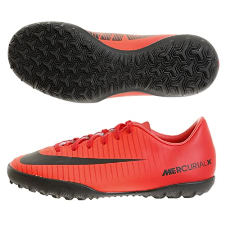 5357e5ee6b95e2 Nike JR MercurialX Victory VI TF - 831949616 - Color Red - Size  1.5   Amazon.co.uk  Sports   Outdoors