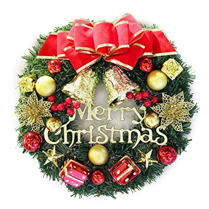 Christmas Wreath Ideas.Amazon Com Baidercor 12 Christmas Wreath Decorations