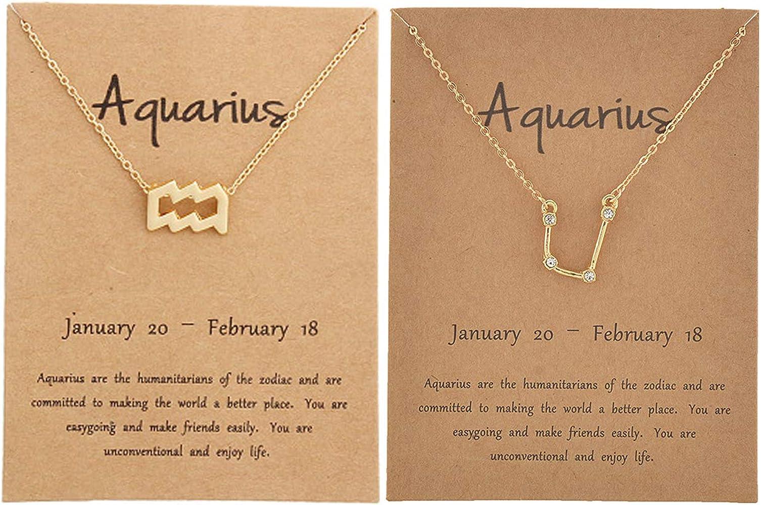 16-18 Adjustable Astrology Necklace Capricorn Skys Jewels Sterling Silver Zodiac Pendant Necklace