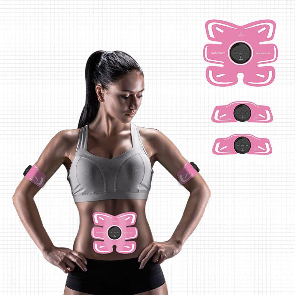 EMSスマート腹筋ステッカーフィットネス腹筋マッサージベルト腹筋刺激腹筋トレーニング装置  B B07G2HVLVF
