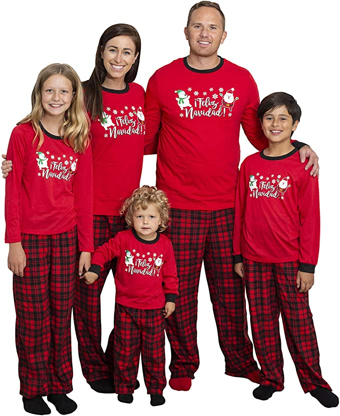 Mad Dog Concepts - Conjunto de Pijamas y Calcetines a Juego para Navidad y Familia