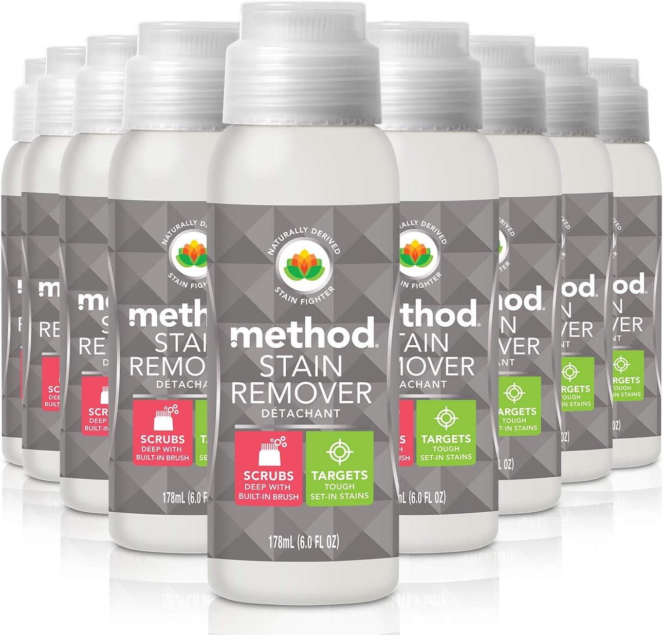 Method Quitamanchas, libre + transparente, 6 onzas (Paquete de 9): Amazon.es: Salud y cuidado personal