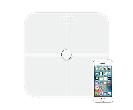 NK BASCULE-BT - Báscula inteligente con Bluetooth 4.0, Android y iOS