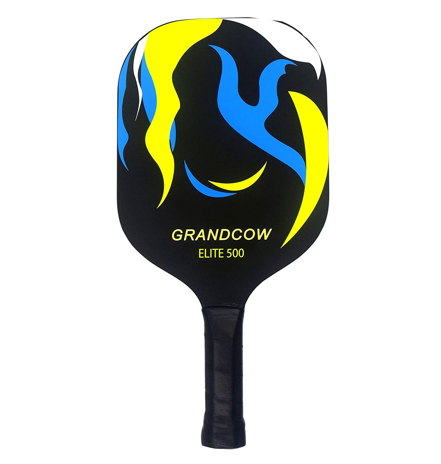 Amazon.com : GRANDCOW Graphite Pickleball Paddle, Carbon Fiber Composite with Polypro Honeycomb Core Pickleball Padel Racket : Sports & Outdoors