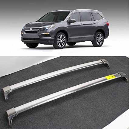 Amazon Com Kingcher Roof Rack For Honda Pilot 2016 2017 Baggage Luggage Roof Rail Cross Bar Crossbar Automotive