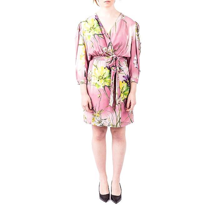 new arrival 6f8d0 2c4cb Blumarine - Vestito - Donna Rosa 38: Amazon.it: Abbigliamento