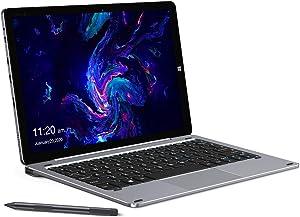 "CHUWI Hi10 X Tablet with Keyboard and Stylus Pen, 10.1"" 2 in 1 Tablet PC, Intel N4100 Quad-core, 6GB LPDDR4 128GB eMMC, 1920x1200 FHD IPS Multi-Touch Display, 2xType-C, BT5.0, Dual Wi-Fi, Windows 10"