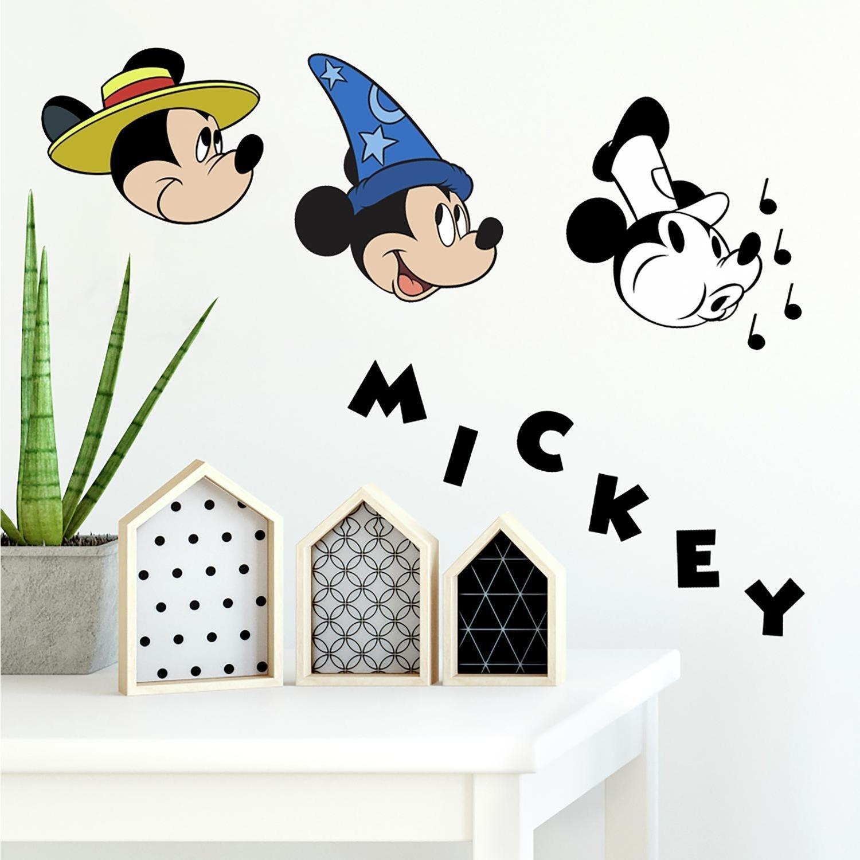 Vinilo Decorativo Pared  Mickey mouse 90th Aniversario