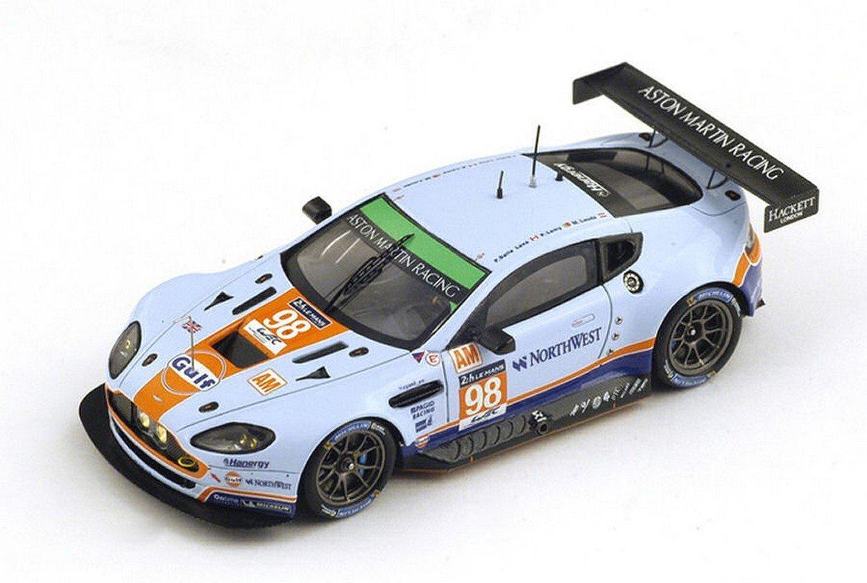 el mas de moda Spark Model S4675 Aston Martin V8 Vantage N.98 N.98 N.98 NC LM 2015 Dalla Lana-Lauda 1:43  bajo precio del 40%
