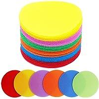 30Pcs Round Carpet Marker Spot Sit Sticker For Classroom Sport Easy Teach Tools