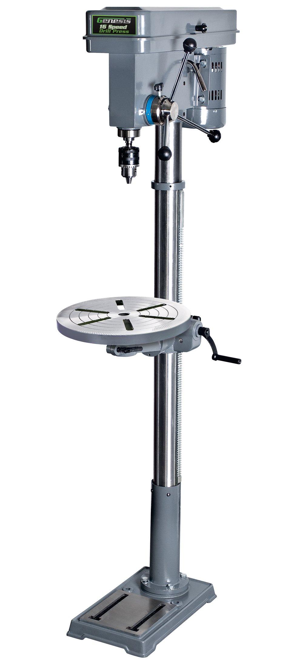 Genesis GFDP160 13-Inch 16-Speed Floor Stand Drill Press