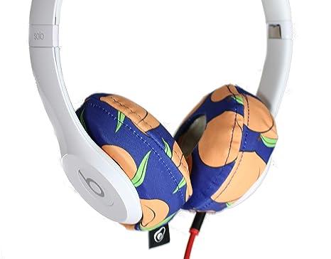 85f5a6b3793 Amazon.com: Avokado Caps - Washable Headphone Covers (Peaches, S ...