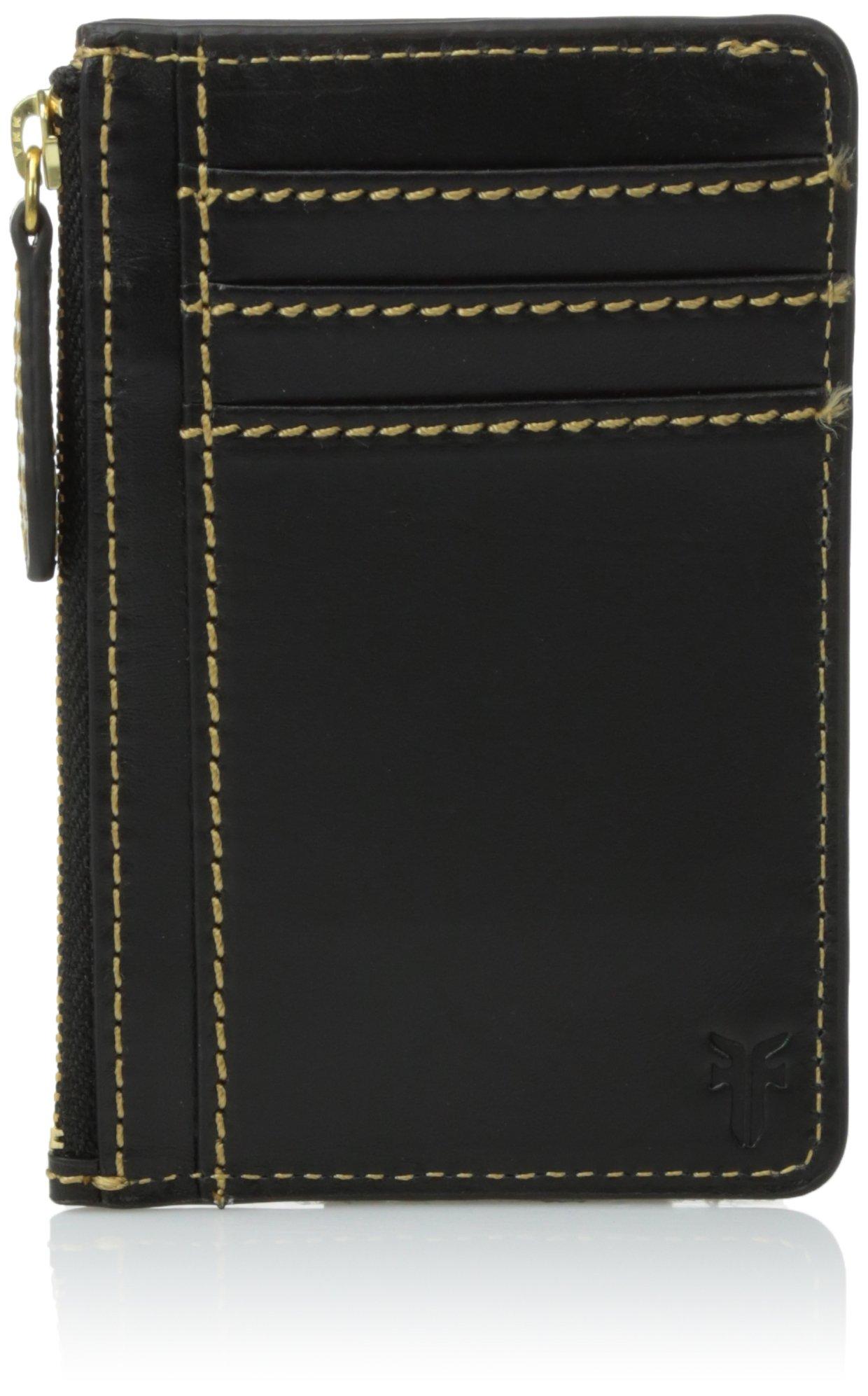 FRYE Women's Harness Id Card Case, Black, One Size