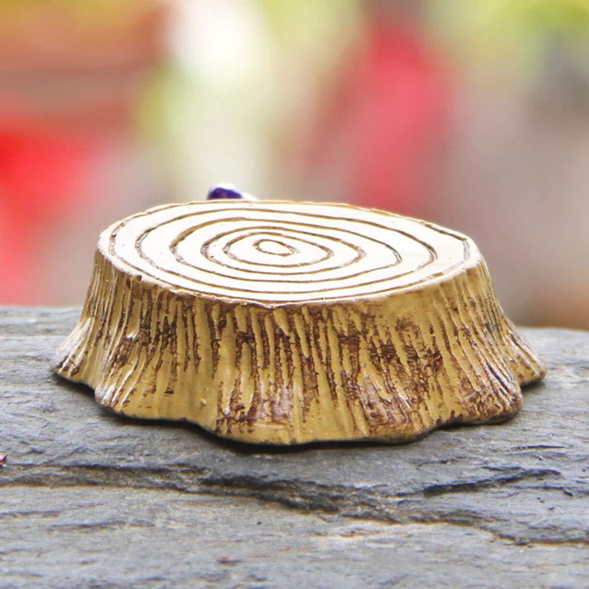 Gro/ße und Kleine Gr/ö/ße Amosfun 2 St/ücke Harz Stake Pilz Stump Micro Miniatur Landschaft Dekoration Garten Decor Ornamente Weihnachten Geburtstagsgeschenk f/ür Kinder