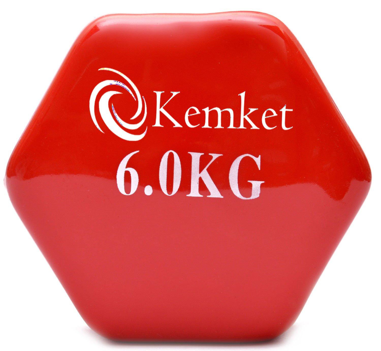 / 1/kg 2/kg 3/kg 8/kg et 10/kg 5/kg 6/kg Lot de 2 Kemket Halt/ères avec rev/êtement en Vinyle 4/kg /0.5/kg /à 10/kg Home Gym Fitness Biceps Musculation 0.5/kg