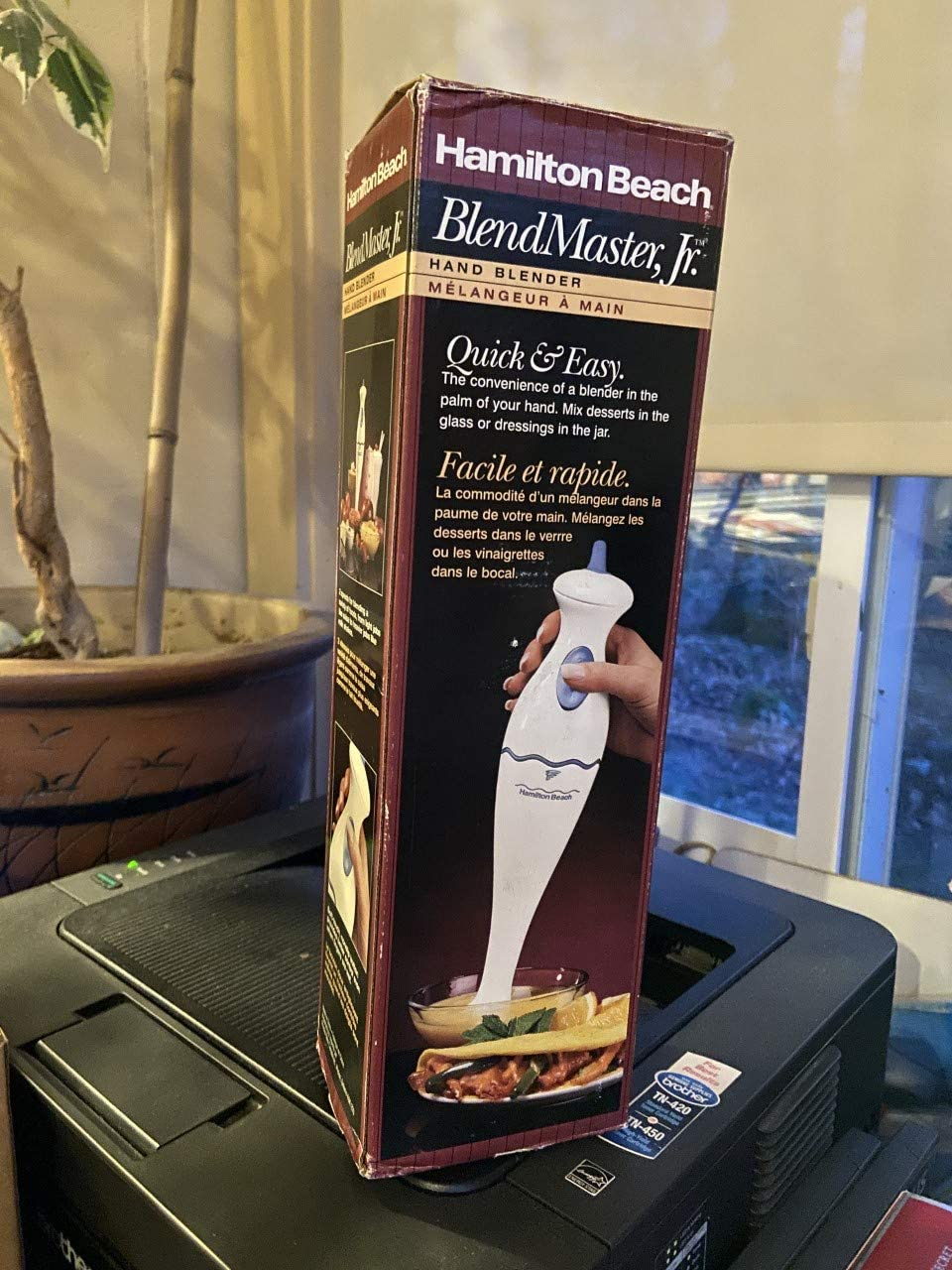 Hamilton Beach Hand Blender Delivers More Taste, Less Cleanup