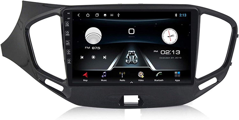 Android 8.1 Sistema de Radio navegación para Coches de Radio Digital Lada 2015-2019 Gran Belt Enlace Dab + USB Bluetooth Espejo Sygic GPS de navegación de tráfico,WiFi,1G 16G +