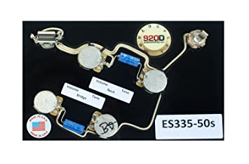 71WKu5VvXoL._SX355_ amazon com 920d es 335 50's wiring harness for gibson cts es 335 wiring harness at virtualis.co