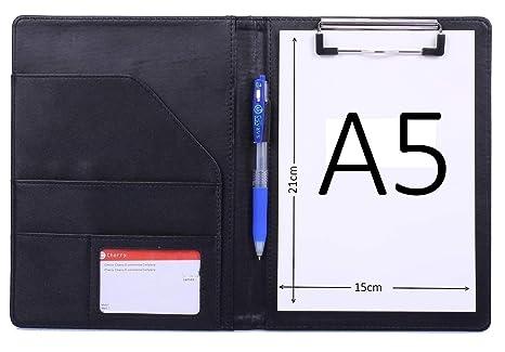f9644d4eaec2d4 Bloc Note A5 conferencier Cuir Porte documents, Portfolio ...
