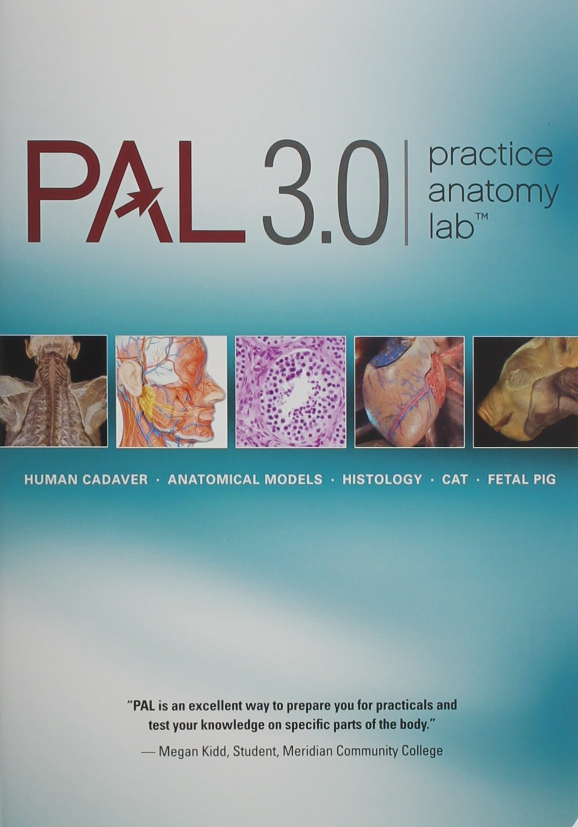 Buy Practice Anatomy Lab 3.0 Lab Guide with PAL 3.0 DVD Book Online ...