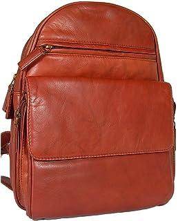 425128f36ddd New ladies girls Visconti brown soft leather backpack organiser bag 01433