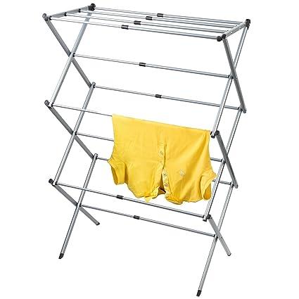 Amazoncom Artmoon Gobi Foldable Drying Rack Horse Extendable