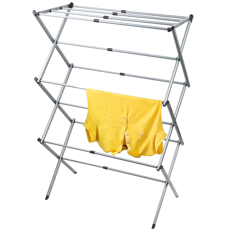 Artmoon GOBI Foldable Drying Rack Horse Extendable Telescopic Clothes Dryer 17''- 29,5'' Length, Anti-Rust Steel