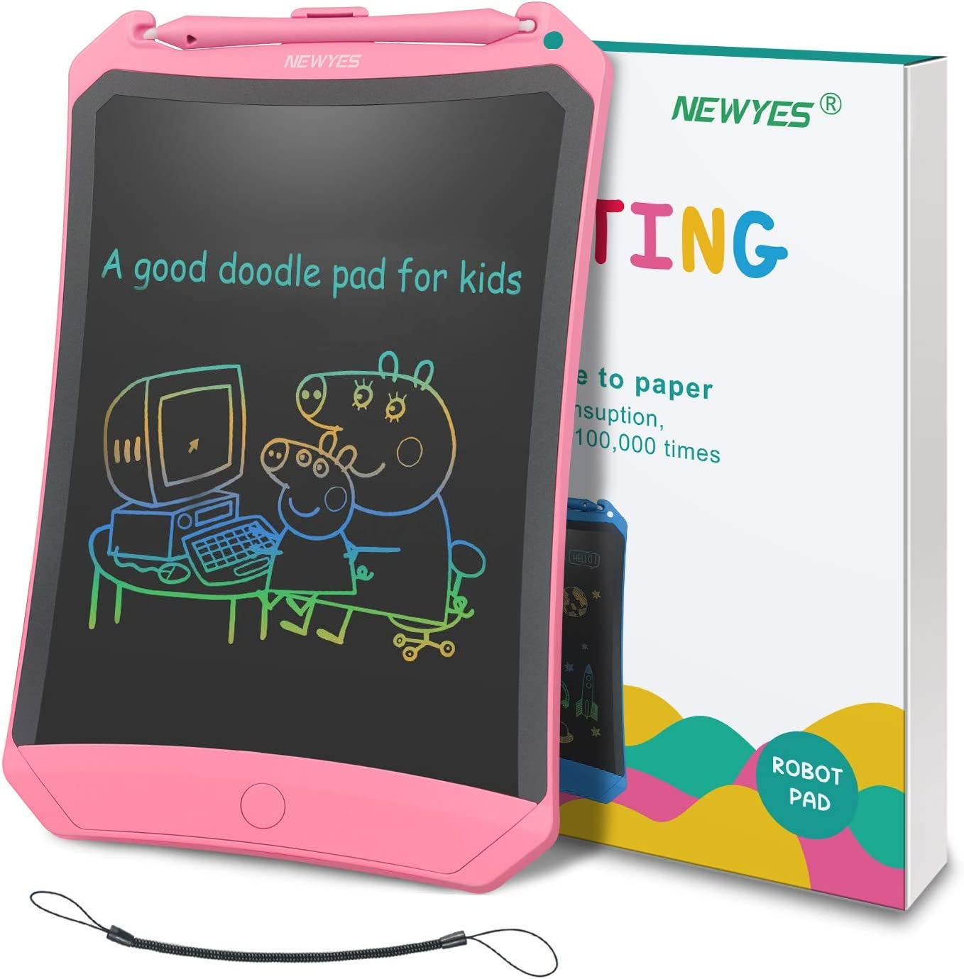 8.5 Inch LCD Writing Tablet Updated Frog Pad Children Electronic Doodle Board Digital E-Writer for Business,Home Message Board,Kid Canyixiu Message Board,LCD Writing Tablet
