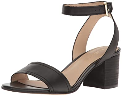 3805d70b64a ALDO Women s Lolla Heeled Sandal Black Leather 5 ...
