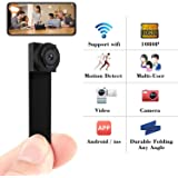Spy Camera 1080P Hidden Mini Camera Wifi Wireless Small Portable Security Cameras with Motion Detection Indoor