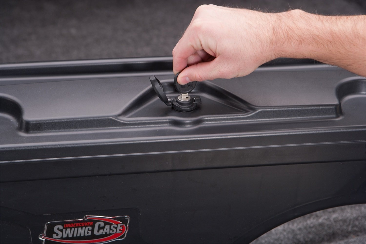 Undercover SC200D SC200P Set of Driver /& Passenger Side Black Swing Case Storage Boxes for Ford F-350 Super Duty