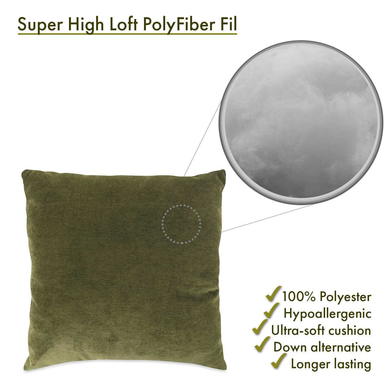 Majestic Home Goods Fern Villa Indoor Large Pillow 20 L x 8 W x 20 H