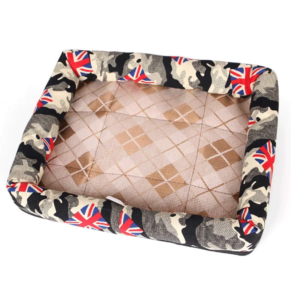 3  Pet Bed Pet Nest Cat Litter Pet Dog Pad Summer Dog Bed Comfort Cotton Washer A+ (color   3 )