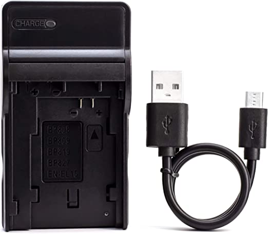 Bp 808 Usb Charger For Canon Fs100 Fs200 Fs300 Camera Photo