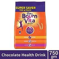 Cadbury Bournvita Chocolate Health Drink, 750 gm Pouch