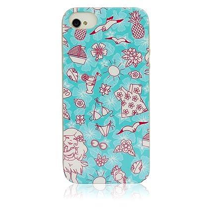 32352060c9 iPhone 5S SE Case, KolorFish [iFunky] Designer Printed Soft Shockproof Slim  Back Case